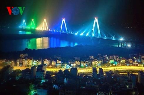 Die Hauptstadt Hanoi von oben  - ảnh 6