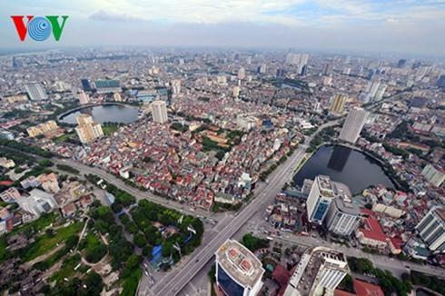Die Hauptstadt Hanoi von oben  - ảnh 7