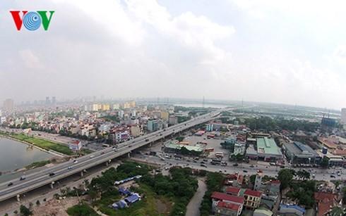 Die Hauptstadt Hanoi von oben  - ảnh 8