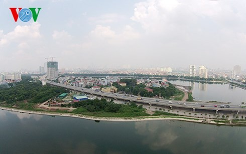 Die Hauptstadt Hanoi von oben  - ảnh 9
