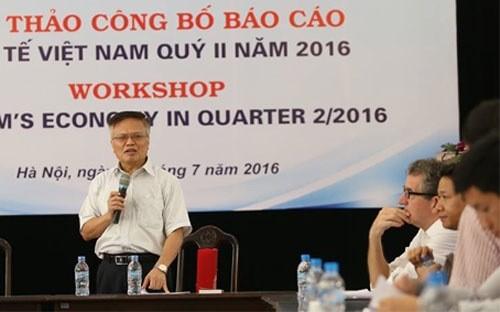 Veröffentlichung des Berichts über Wirtschaft Vietnams im zweiten Quartal 2016 - ảnh 1