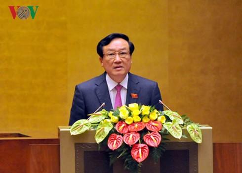 Nguyen Hoa Binh ist zum Präsidenten des Obersten Gerichtshofes wiedergewählt - ảnh 1