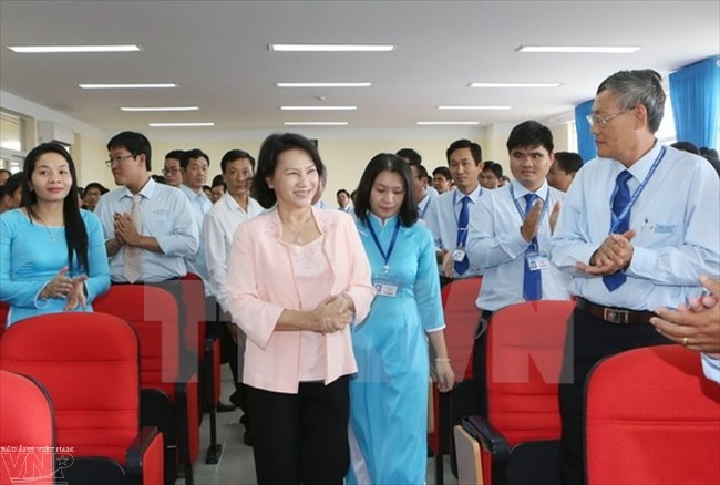 Technische pädagogische Hochschule Vinh Long soll die Ausbildungsqualität erhöhen - ảnh 1