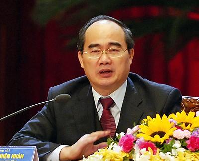 Der Vorsitzende der Vaterländischen Front Vietnams besucht Südkorea - ảnh 1
