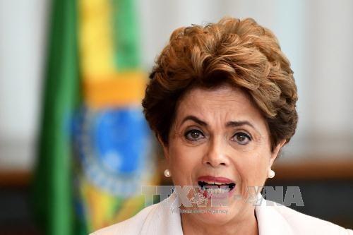 Brasilien: Dilma Rousseff will Gerechtigkeit und Demokratie verteidigen - ảnh 1