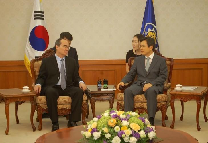 Nguyen Thien Nhan beendet seinen Südkorea-Besuch - ảnh 1
