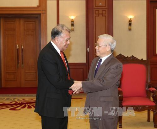 KPV-Generalsekretär Nguyen Phu Trong trifft Delegation der Arbeiterpartei Mexikos - ảnh 1
