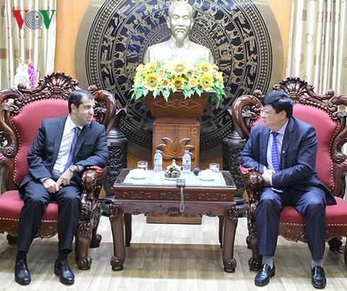 VOV-Intendant trifft den aserbaidschanischen Botschafter in Vietnam - ảnh 1