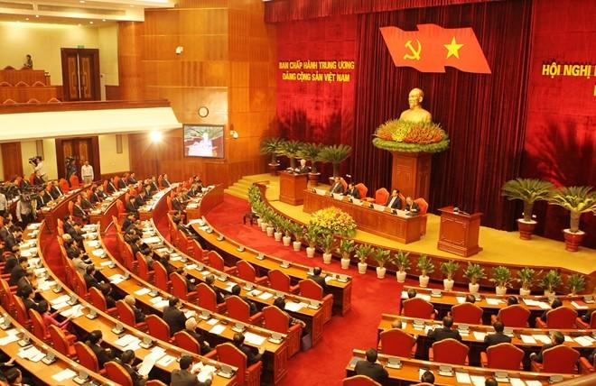 3. Sitzungstag des Zentralkomitees der KPV - ảnh 1