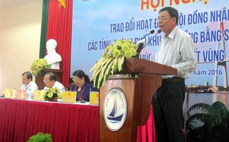 Die Rolle der Volksräte der Provinzen im Mekong-Delta bei Regionsverbindung - ảnh 1