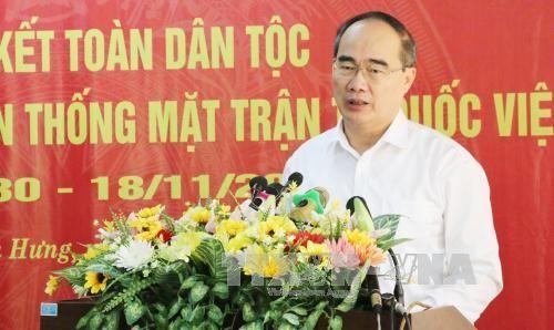 Nguyen Thien Nhan beglückwünscht Gläubige des Caodaismus  - ảnh 1