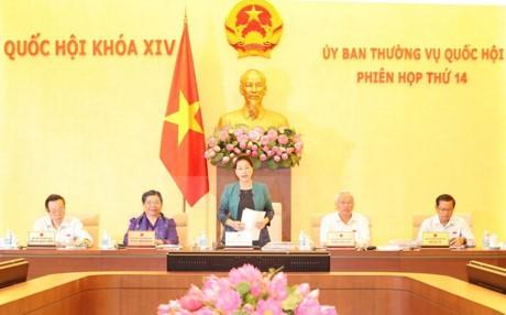 Eröffnung der 14. Sitzung des ständigen Parlamentsausschusses - ảnh 1