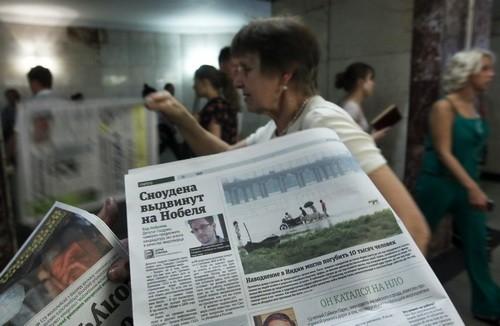 Edward Snowden menyampaikan surat permintaan untuk mengungsi di Rusia - ảnh 1