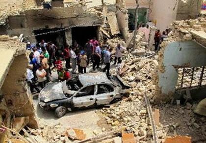 Serentetan serangan bom di Irak menewaskan 47 orang - ảnh 1