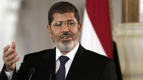 Mesir melakukan investigasi terhadap mantan Presiden Mohamed Morsi membunuh demonstran - ảnh 1