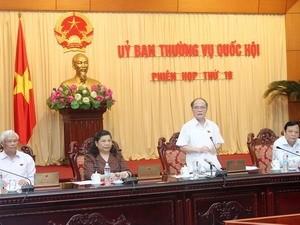 Pembukaan persidangan ke-19 Komite Tetap Majelis Nasional Vietnam - ảnh 1