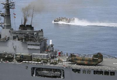 Jepang memperkuat fungsi untuk Pasukan Bela Diri di laut - ảnh 1