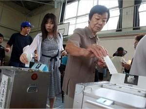 Jepang memulai pemilu Majelis Tinggi - ảnh 1