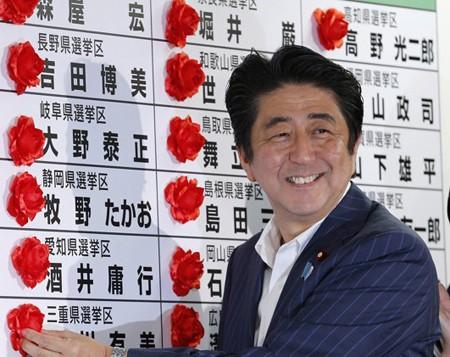 Koalisi yang berkuasa Jepang merebut mayoritas kursi dalam pemilu Majelis Tinggi - ảnh 1