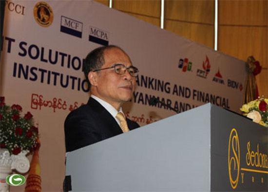 Ketua MN Vietnam, Nguyen Sinh Hung mengakhiri dengan baik kunjungan resmi di Federasi Myanmar - ảnh 1