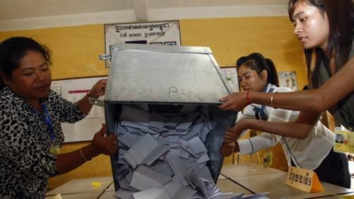 Kamboja: Partai CPP yang berkuasa menyatakan menang dalam pemilu Parlemen angkatan ke-5 - ảnh 1