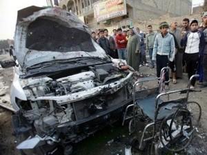 Serangan bom yang bersambung-sambung di Irak - ảnh 1