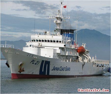 Kapal polisi Jepang mengunjungi kota Da Nang - ảnh 1