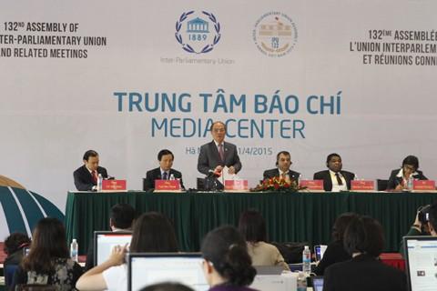 Pernyataan Hanoi merupakan pusaka dan langkah kemajuan dalam aktivitas IPU - ảnh 1