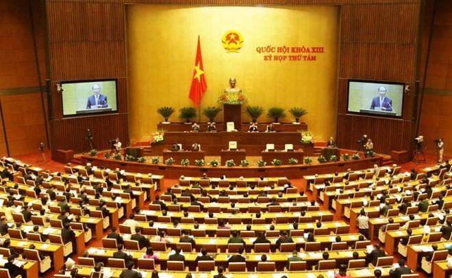 Mencanangkan gerakan mencipta lagu tentang MN Vietnam - ảnh 1