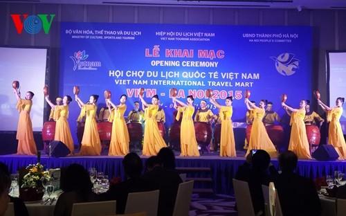 Pekan raya pariwisata internasional Vietnam tahun 2015 berakhir - ảnh 1