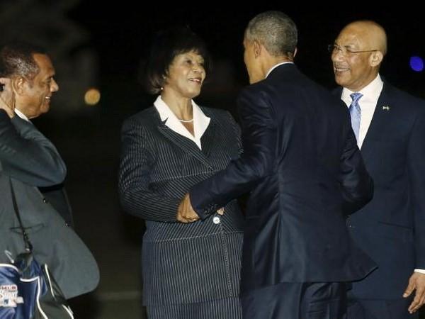 Presiden AS melakukan perlawatan ke Jamaika dan Panama - ảnh 1