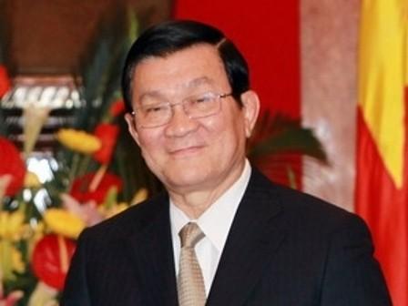 Presiden Vietnam, Truong Tan Sang akan menghadiri KTT Asia-Afrika - ảnh 1
