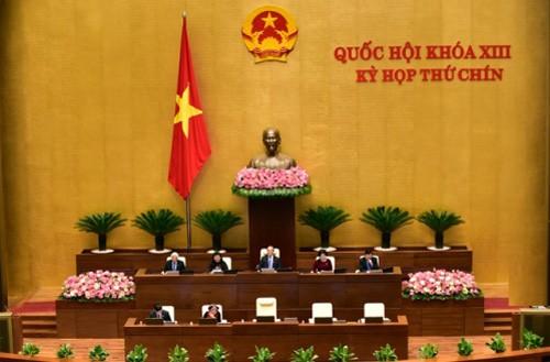 MN Vietnam membahas RUU mengenai acara administrasi (amandemen) - ảnh 1