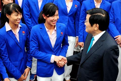 Olahraga Vietnam harus mencapai kaliber Asia dan dunia - ảnh 1