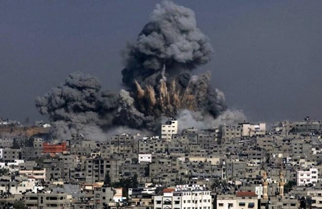 AS memprotes penyampaian laporan tentang perang di Jalur Gaza kepada DK PBB - ảnh 1