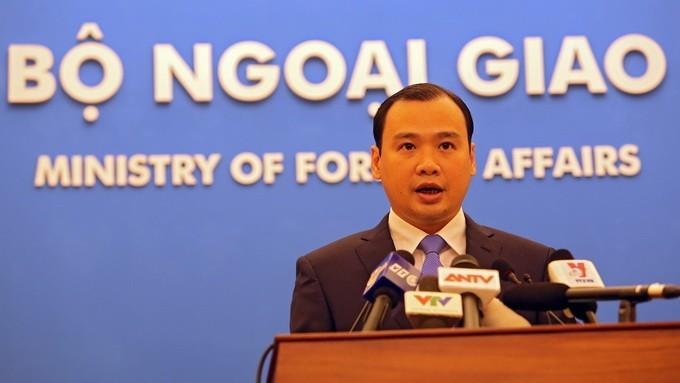 Tindakan Tiongkok tentang pembangunan dan perluasan pulau di kepulauan Truong Sa adalah tidak sah - ảnh 1