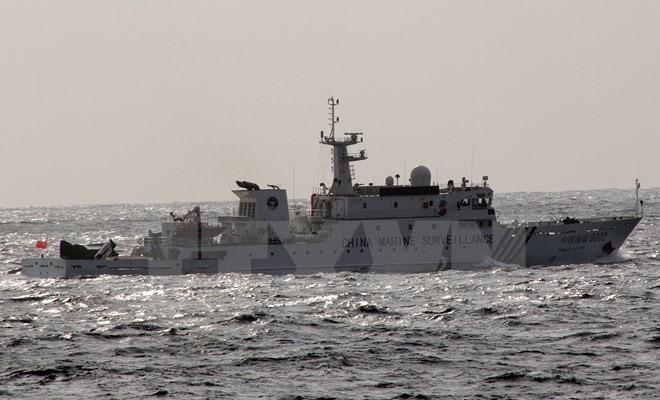 Dua kapal Tiongkok memasuki wilayah laut di sekitar kepulauan yang dipersengketakan dengan Jepang - ảnh 1