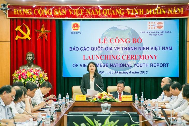 Mengumumkan Laporan nasional tentang kepemudaan Vietnam - ảnh 1