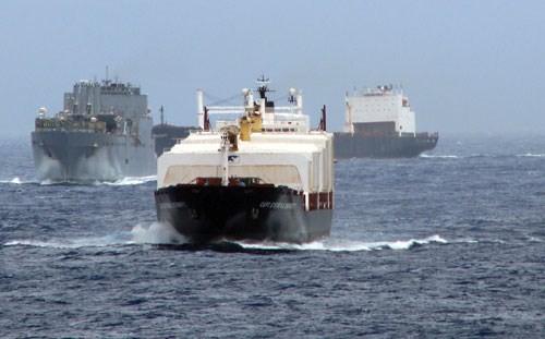 AS, Jepang dan India melakukan dialog tentang keamanan maritim - ảnh 1