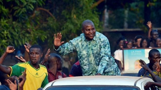 Hasil sementara pemilu Presiden Republik Afrika Tengah - ảnh 1