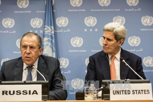 Menlu AS dan Rusia melakukan pembicaraan via telepon tentang tempat-tempat panas di dunia - ảnh 1