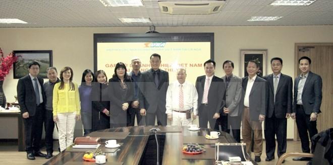 Mengkonektivitaskan badan usaha Vietnam di Swiss dan Federasi Rusia - ảnh 1