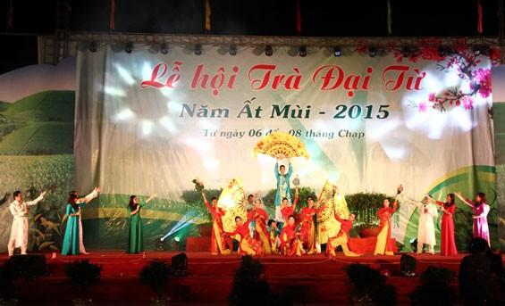 Festival teh Dai Tu di provinsi Thai Nguyen - ảnh 1