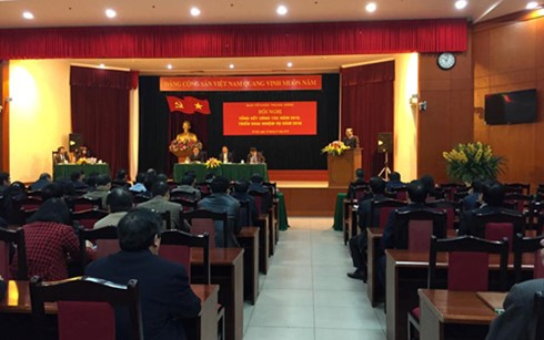 Departemen Organisasi KS PKV menggelarkan tugas tahun 2016 - ảnh 1