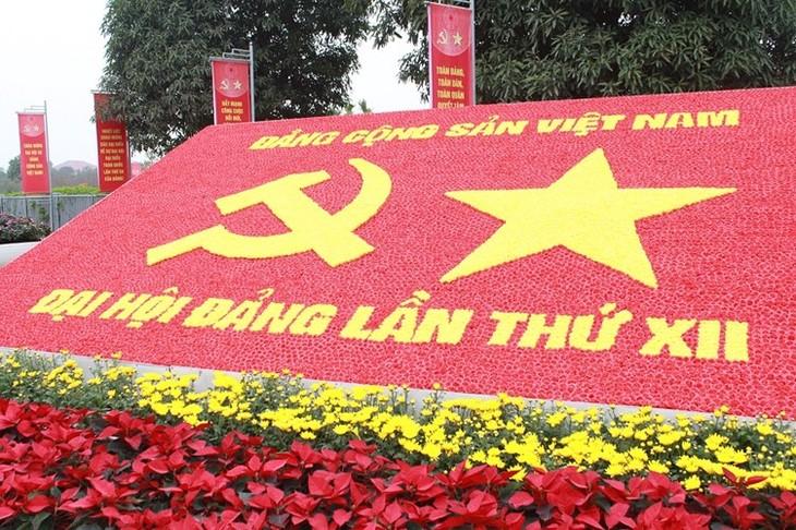 Semua lapisan rakyat Vietnam berkiblat kepada Kongres Nasional ke-12 PKV - ảnh 1