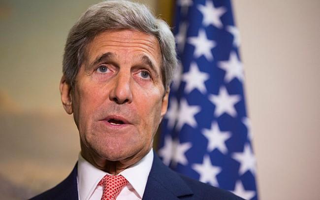 Menlu AS, John Kerry mengunjungi Laos - ảnh 1