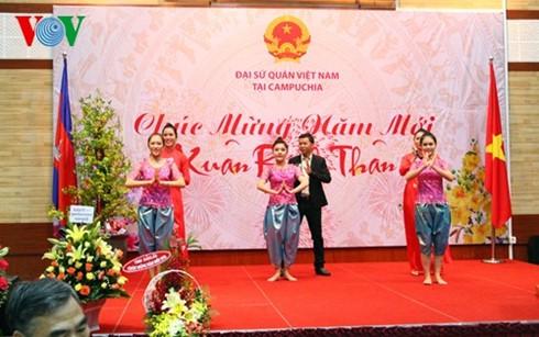 Orang Vietnam di luar negeri menyongsong Hari Raya Tet 2016 - ảnh 1