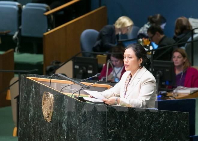 Vietnam menegaskan komitmen menjamin dan mendorong hak manusia - ảnh 1