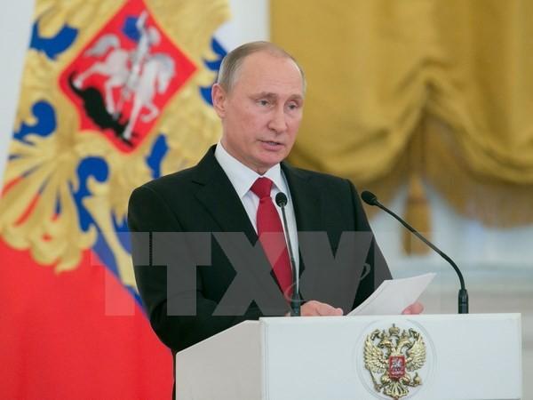 Rusia bersedia bekerjasama dengan semua negara di atas dasar hukum internasional - ảnh 1