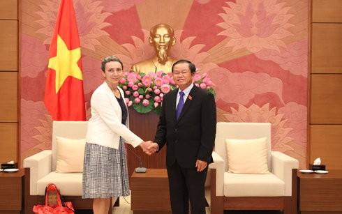 Vietnam dan Meksiko memperkuat kerjasama di banyak bidang - ảnh 1